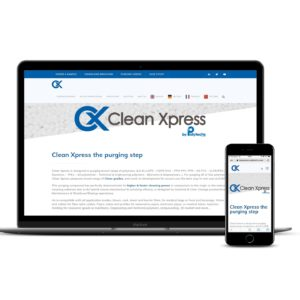 Mock-up site Clean Xpress